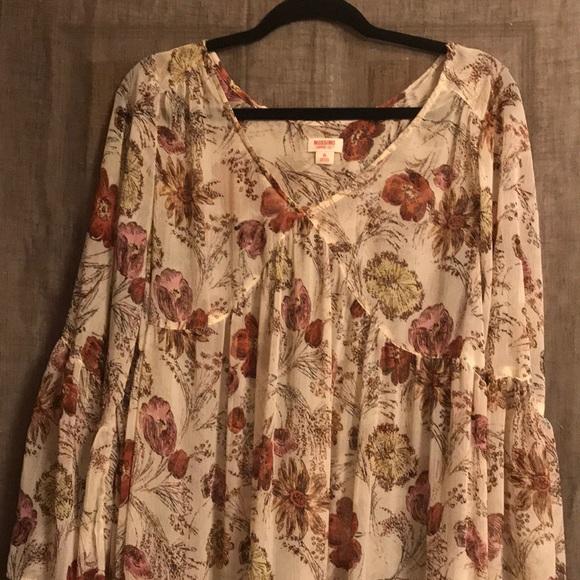 Mossimo Supply Co. Dresses & Skirts - Fall long dress
